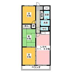 Comfort高蔵寺[4階]の間取り