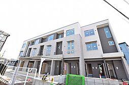 神奈川県厚木市温水の賃貸アパートの外観