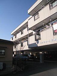 長野県長野市三輪4丁目の賃貸アパートの外観