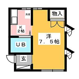 クラウド8[3階]の間取り