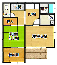 [一戸建] 茨城県つくば市稲荷前 の賃貸【茨城県 / つくば市】の間取り