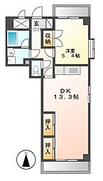 ITOH壱番館[5階]の間取り