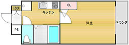 ARIOURA日本橋[202号室]の間取り