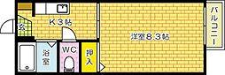 セフィラ高須[102号室]の間取り