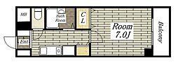 ルグラン琴[507号室]の間取り
