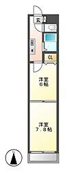BloisCerezo[4階]の間取り