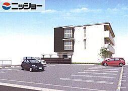 エクセルヤマナカII[2階]の外観