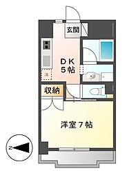パティオ新栄[5階]の間取り