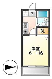 BONNY HIROZI[2階]の間取り