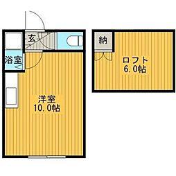 シャトル141[1階]の間取り