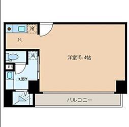 I.B日本橋ビル[3階]の間取り