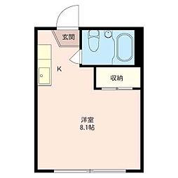 M・ステージ[2階]の間取り