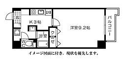 メゾン富士見--[605号室]の間取り