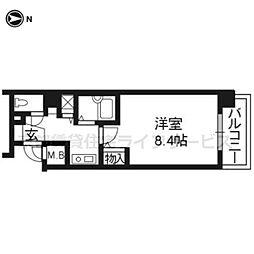 サムティ京都祇園507[5階]の間取り