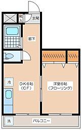 CASA IWANAMI[303号室]の間取り