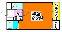 ラポルテ・じゅじゅ 303号室[3階]の間取り