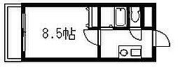 エース弐番館[6階]の間取り