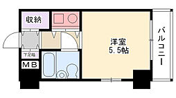 朝日プラザ甲子園[5階]の間取り