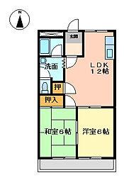 PERSONAL[2階]の間取り