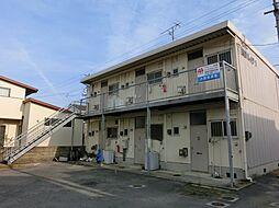 愛媛県今治市中日吉町3丁目の賃貸アパートの外観