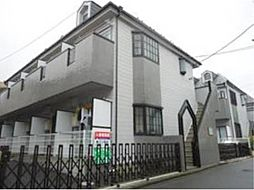 東京都武蔵野市西久保3丁目の賃貸アパートの外観