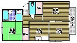 ピュアハイムI[1階]の間取り