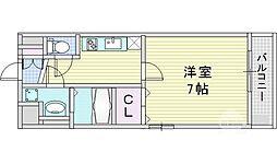 アドバンス西梅田ウインズ[8階]の間取り