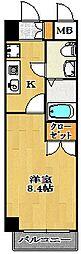 ジュメル京成船橋[3階]の間取り