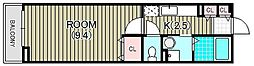 ケーズコート大宮[2階]の間取り