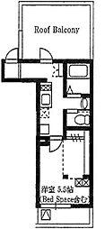 セレ生麦[3階]の間取り