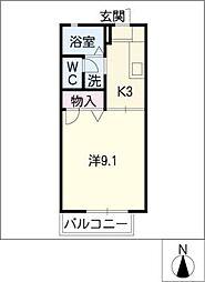 プリマベーラ B棟[2階]の間取り
