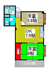 岩代ビル[4階]の間取り