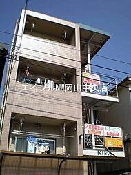 岡山県岡山市中区門田屋敷3丁目の賃貸マンションの外観