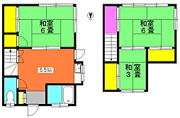 [テラスハウス] 神奈川県川崎市宮前区平5丁目 の賃貸【神奈川県 / 川崎市宮前区】の間取り