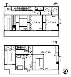 中町(星屋ビル)[3階]の間取り