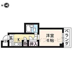 大藤マンション[3-A号室]の間取り