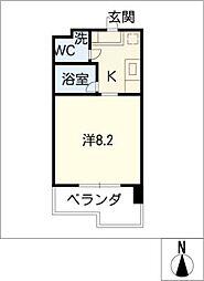 ウランTOWER[10階]の間取り