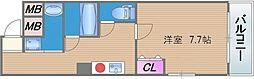 鶴橋末広ビルII[4階]の間取り