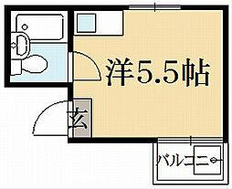 メゾン上賀茂[3階]の間取り