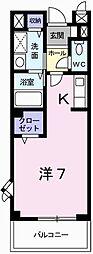 Sky Room・南条[2階]の間取り