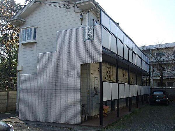 東京都練馬区石神井台4丁目の賃貸アパートの外観