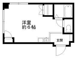 グランティグルパートII[4階]の間取り