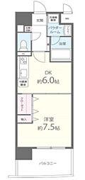 アールパンション高井田[3階]の間取り