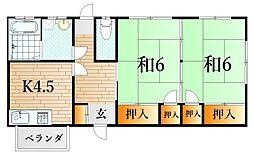 山陰本線 綾羅木駅 徒歩3分
