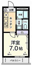 アモジュール[2階]の間取り