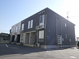 新潟県村上市鍛冶町の賃貸アパートの外観