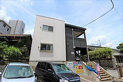 福岡県北九州市小倉北区緑ケ丘1の賃貸アパートの外観