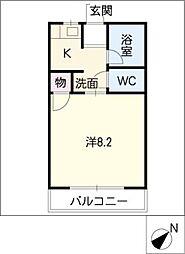メゾン石川II[2階]の間取り