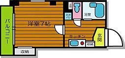 マンションJIN[3階]の間取り