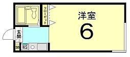 ガーデンコート21[103号室]の間取り